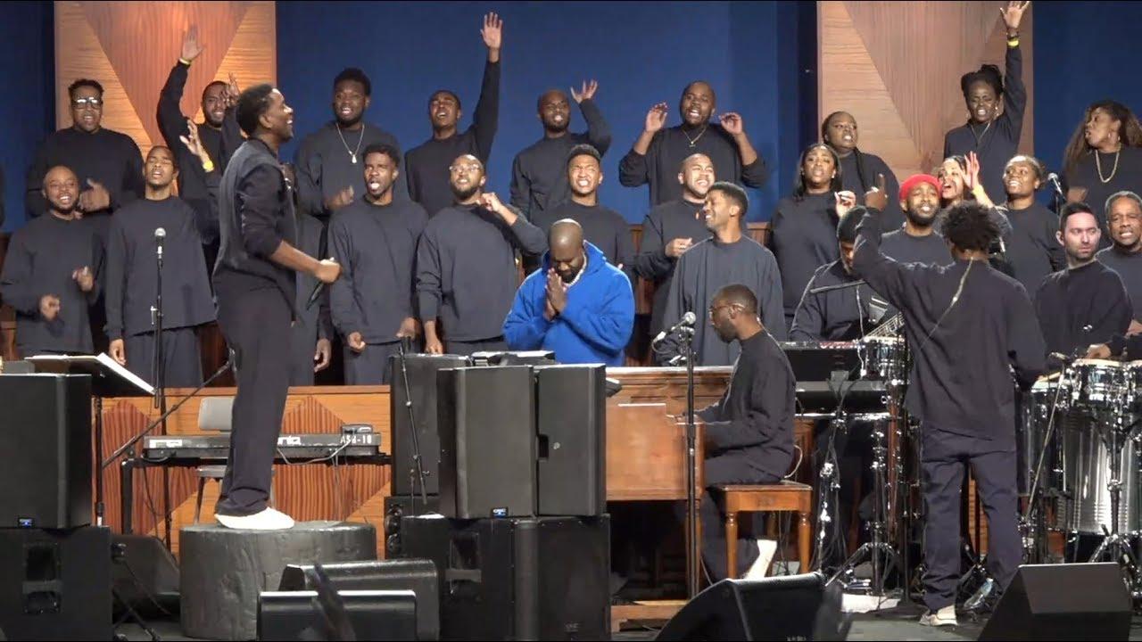 DOWNLOAD VIDEO Kanye West – Sunday Service at City of Refuge, Los Angeles