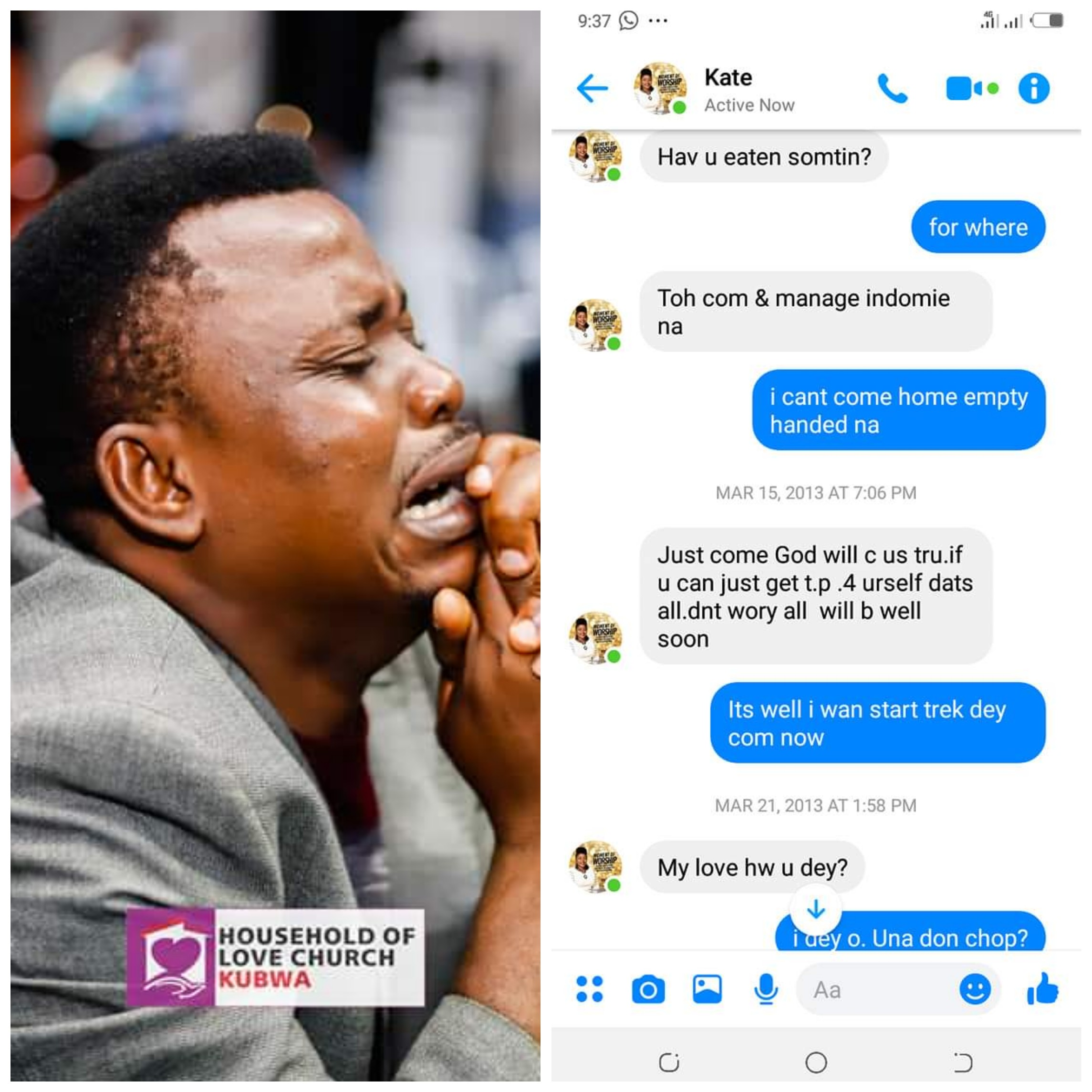 AWWWN!!! Popular Gospel Music Producer Reveals heartwarming Chat With His Wife few years ago