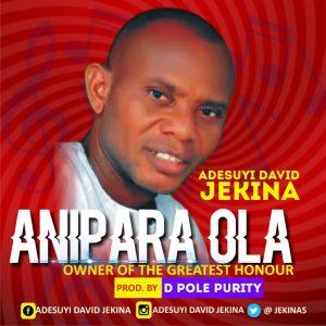 DOWNLOAD MP3: Adesuyi David Jekina - Anipara Ola
