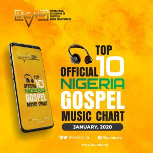 """Dunsin Oyekan Back At The Top Of IACMP Official Nigerian Gospel Music Top 10 Chart With """"Most High""""   January 2020"""