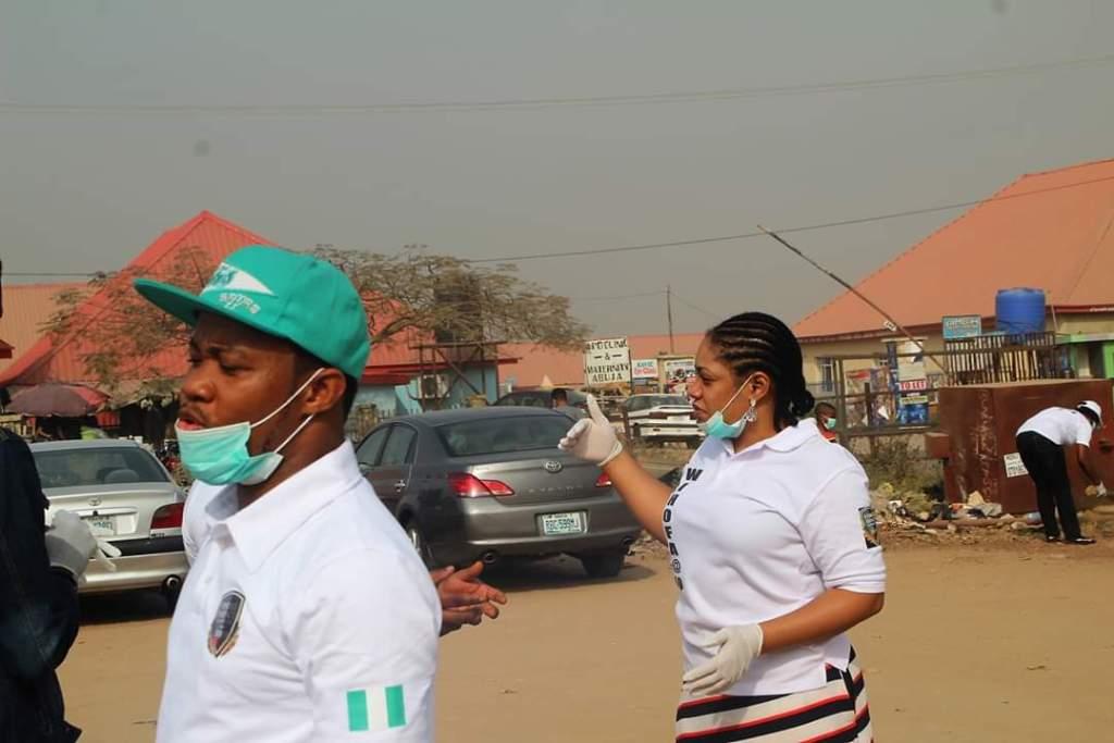 Evangelist Kufre Abasi Eyo leads WIHOFA church to Market Sanitation (Photo)