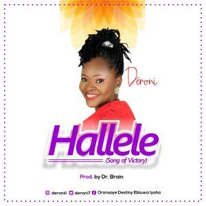 DOWNLOAD MP3: Deroni - Hallele