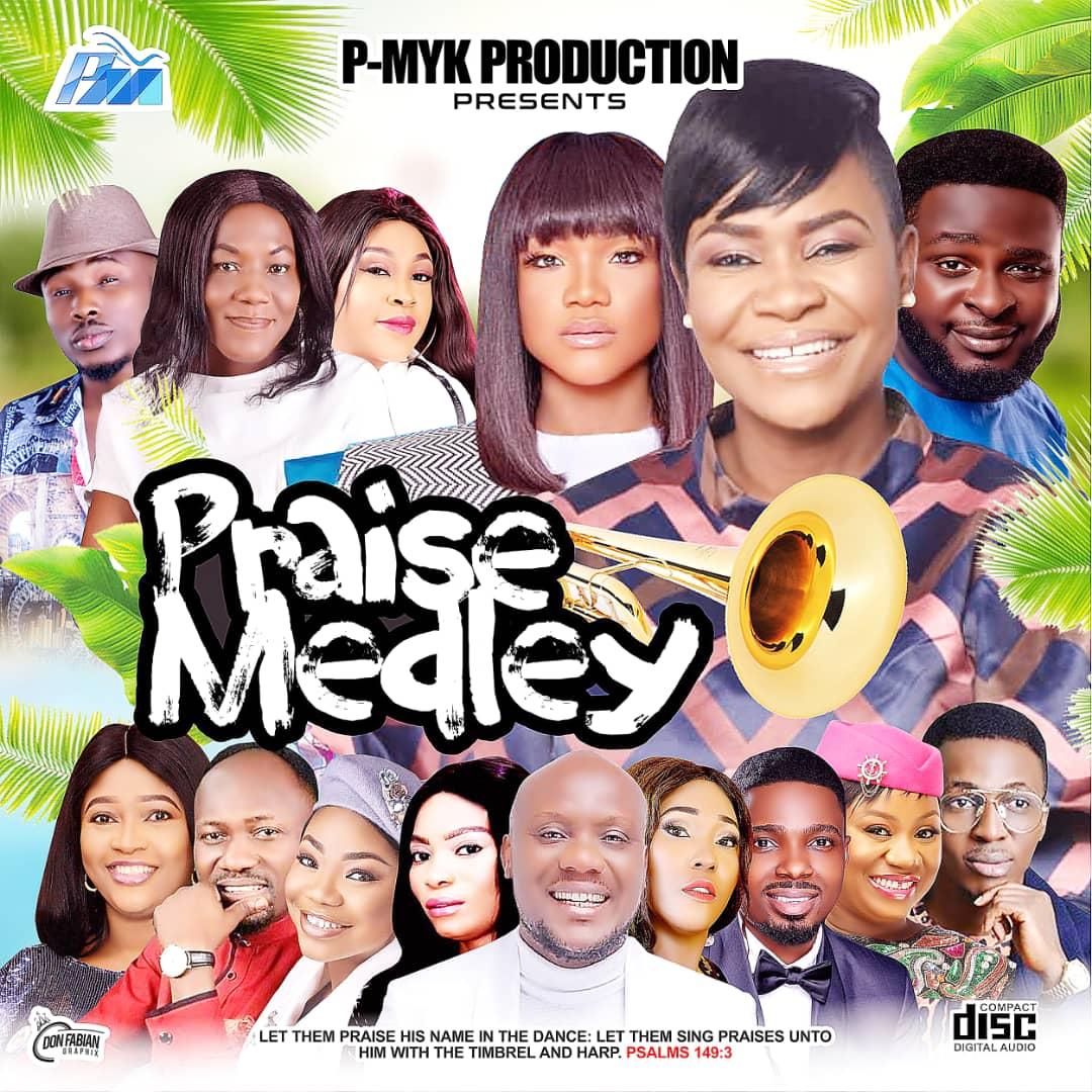 MIXTAPE: P-Myk MIXTAPE : Praise Medley (Download Gospel Mixtape)