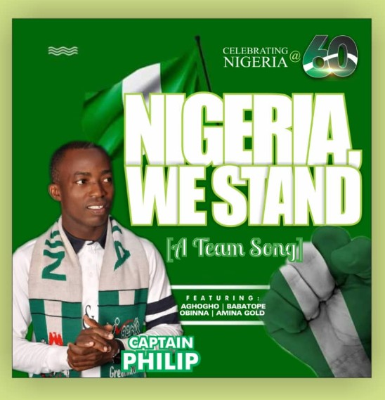 DOWNLOAD MP3: Captain Philip – Nigeria We Stand ft Aghogho, Babatope, Obinna & Amina Gold