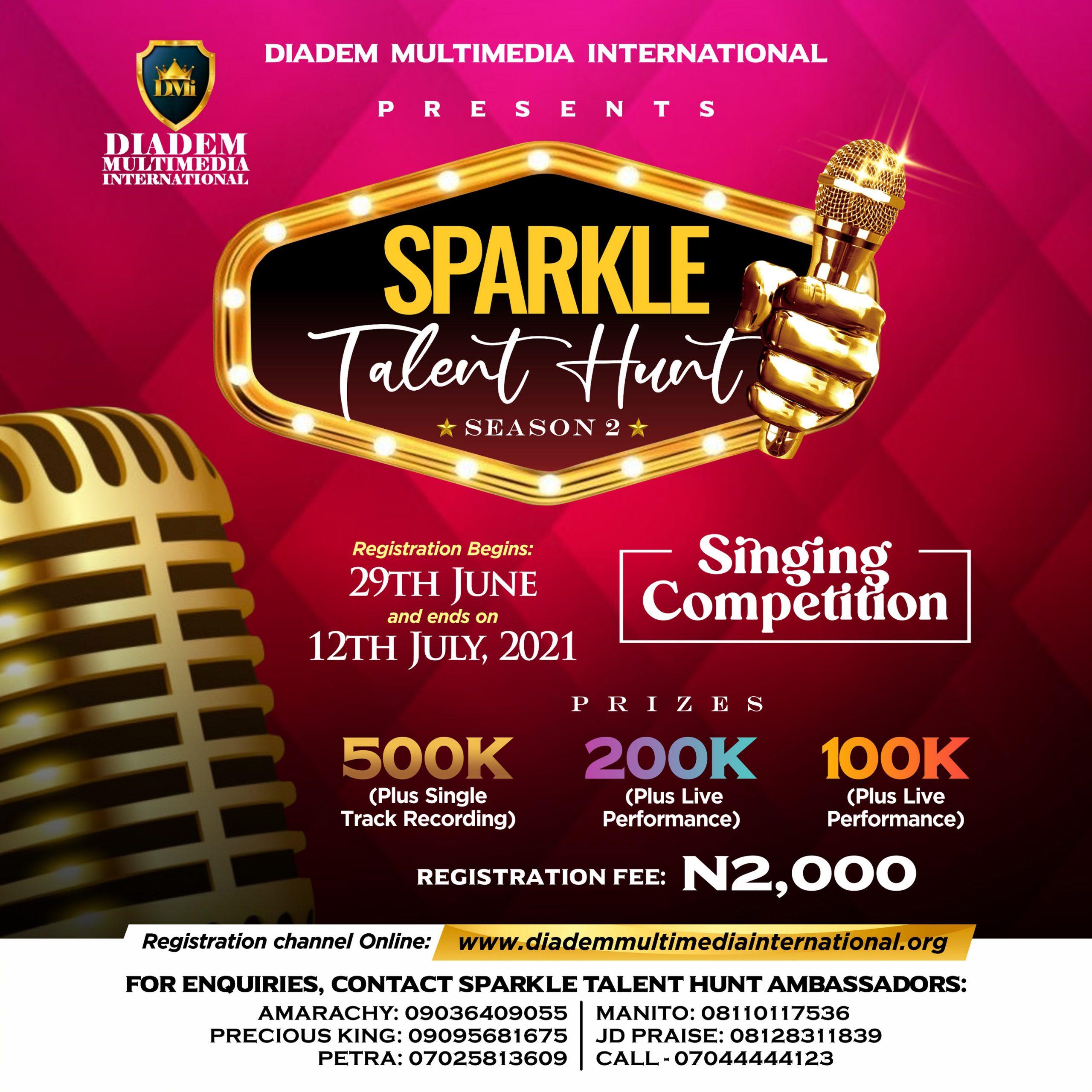 Registration For Sparkle Talent Hunt Season Begins
