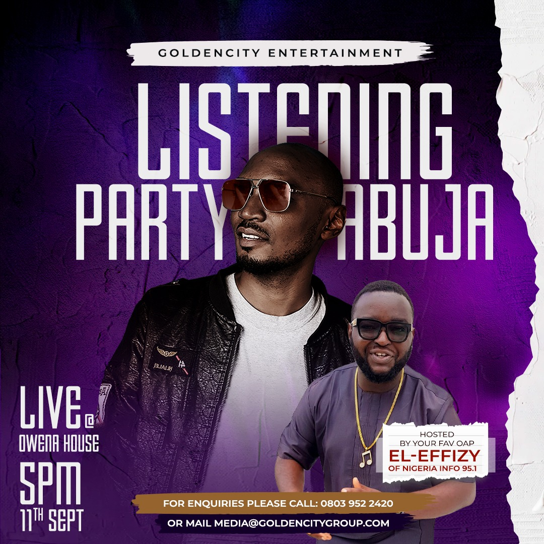 Event: Album Listening Party - DEPTH 116 by G-Ray