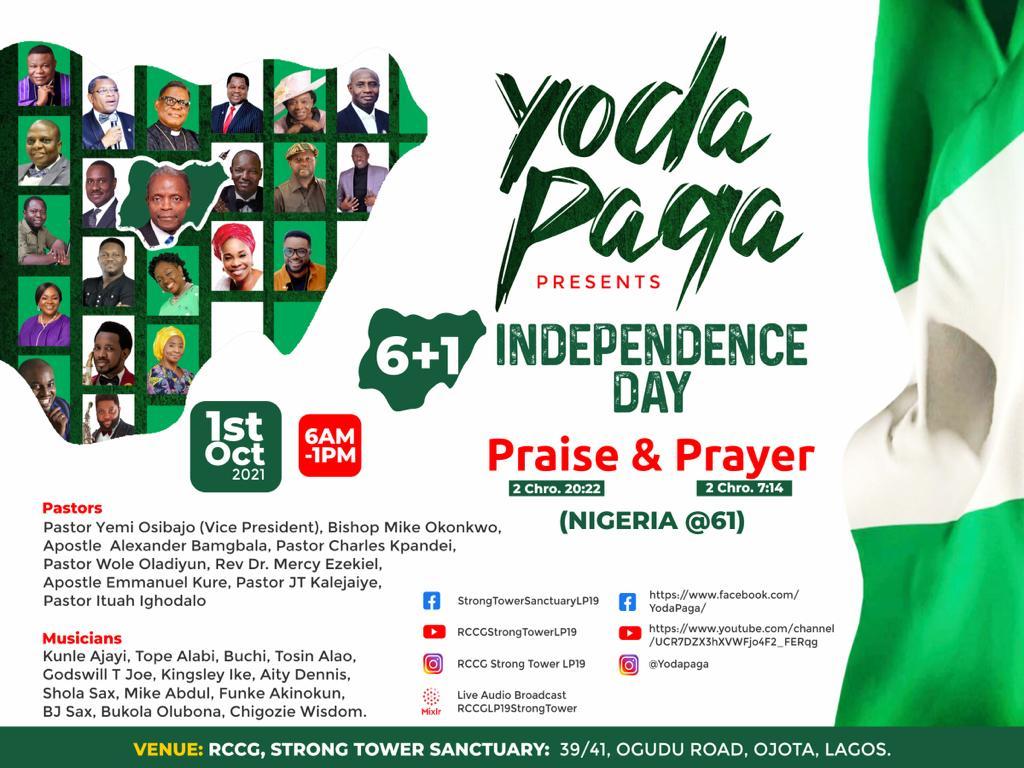 Osibanjo, Okonkwo, Tope Alabi, Mike Abdul, BJ Sax, Kunle Ajayi & Others For Yoda Paga