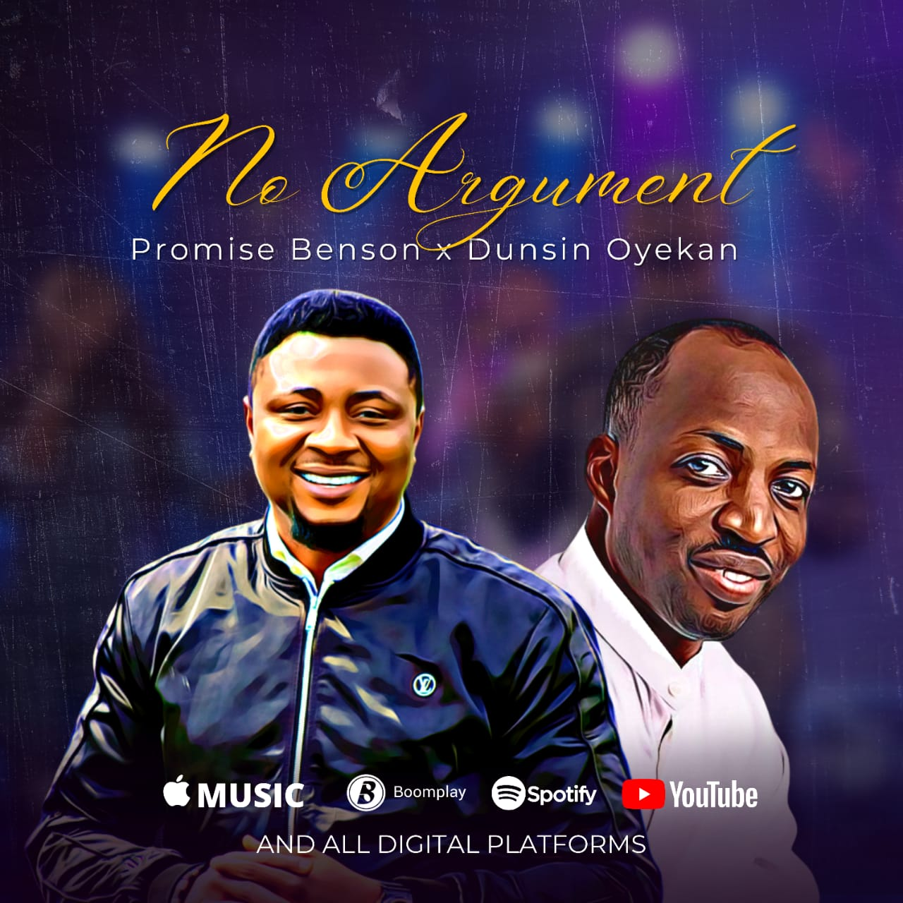 Download Mp3: Promise Benson - No Argument ft Dunsin Oyekan